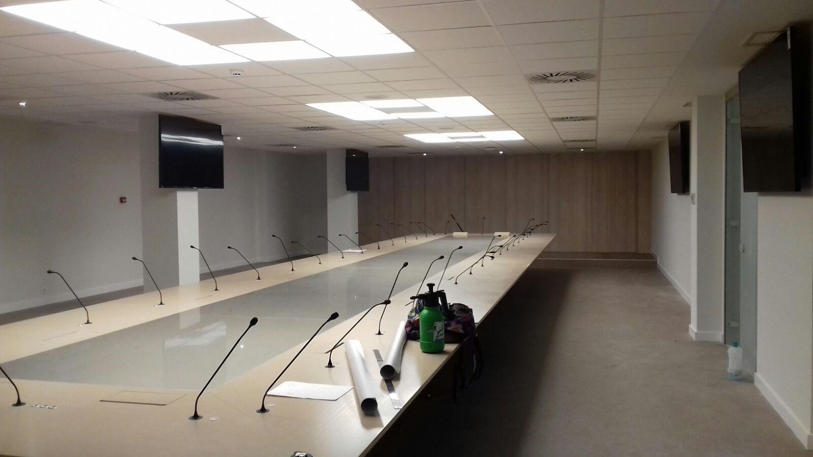sala del consejo nacional de Farmacia
